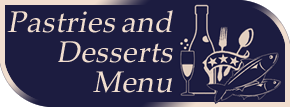 Pastries and Desserts Menu